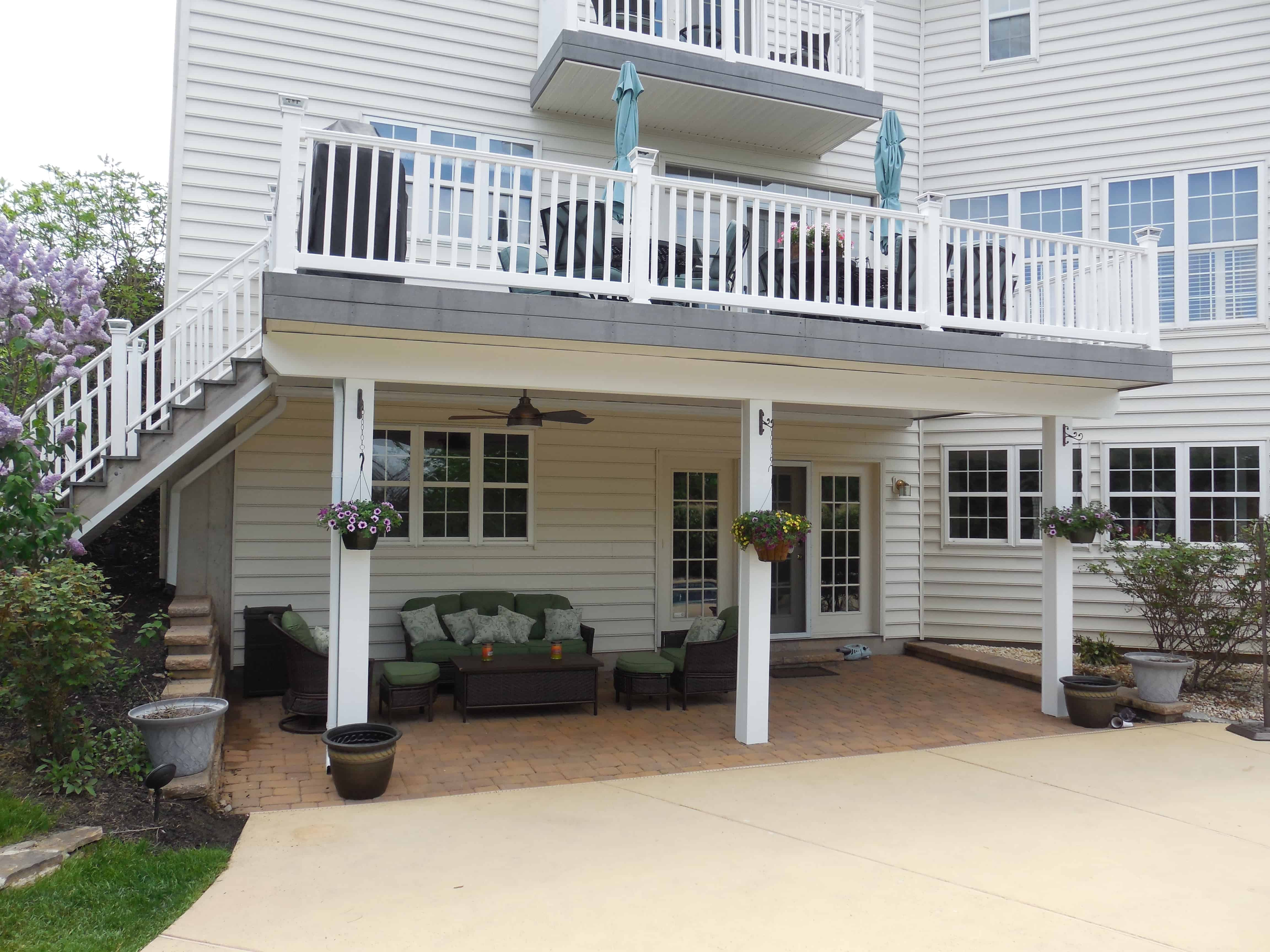 ... Two Floor Patio And Deck Collegeville