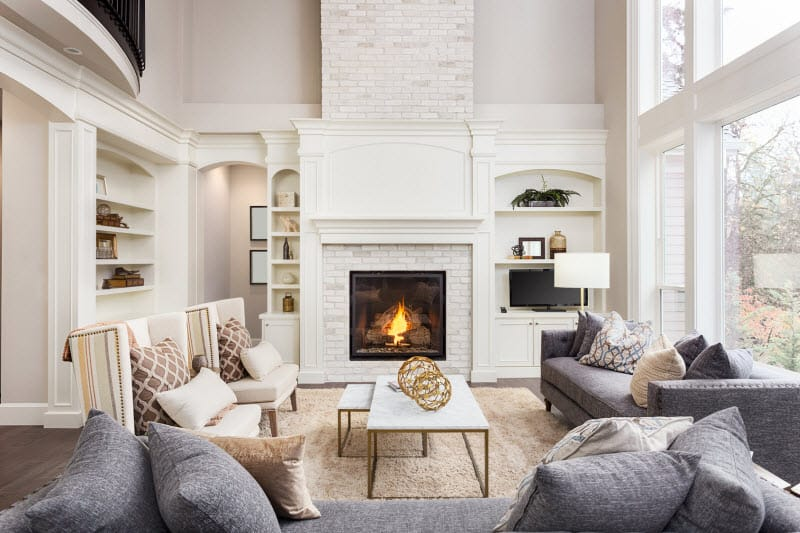 Fireplace | Sovereign Construction Services