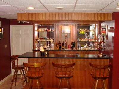 Remodeled Basement and Bar