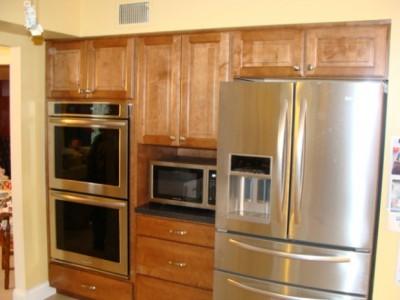 Kitchen Wellborn Cabinet Installation