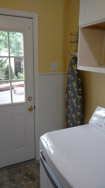 Gilbertsville laundry room renovation