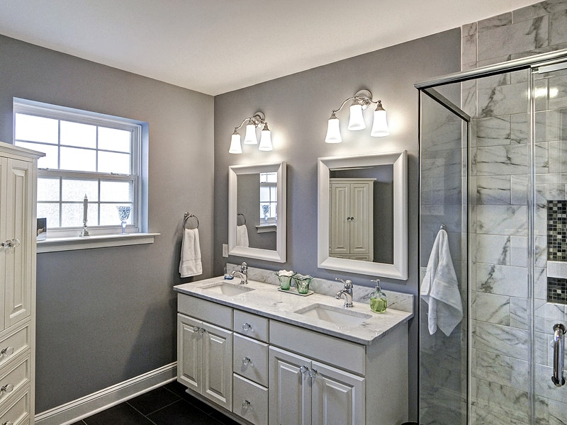 NARI Contractor of the Year Award Winner Residential Bathroom Under 25000 | Sovereign Construction Services