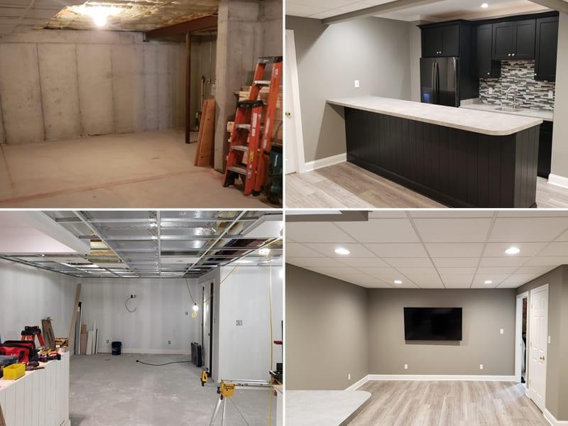Basement Remodeling Sovereign Construction Services Llc