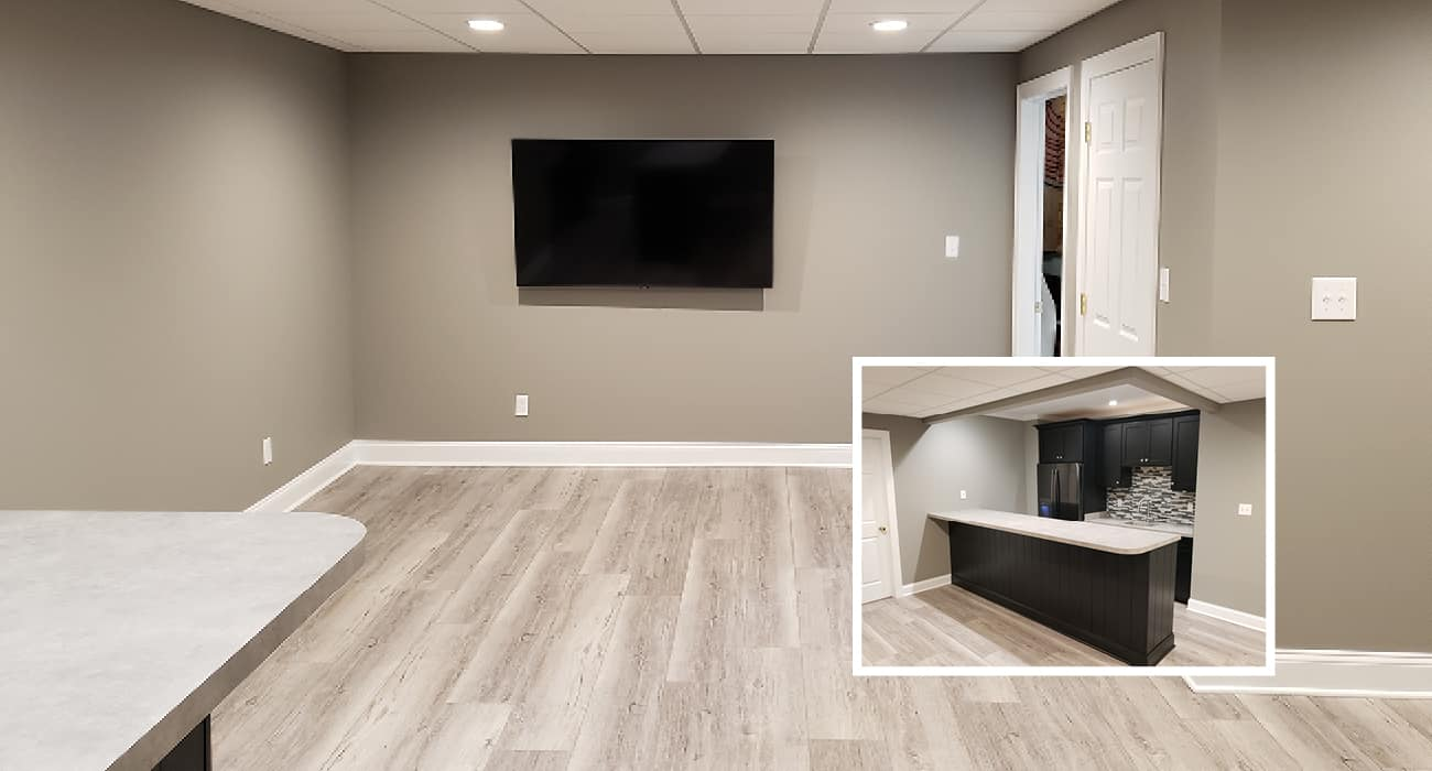Basement Renovations | Sovereign Construction